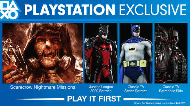 The Crusader's Realm: Batman: Arkham Knight: PS4 Exclusives