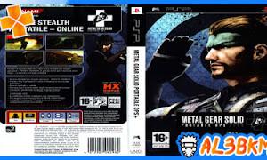 تحميل لعبة Metal Gear Solid Portable Ops psp بحجم صغير لمحاكي ppsspp