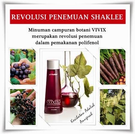 VIVIX penemuan revolusioner oleh Shaklee membantu melambatkan penuaan