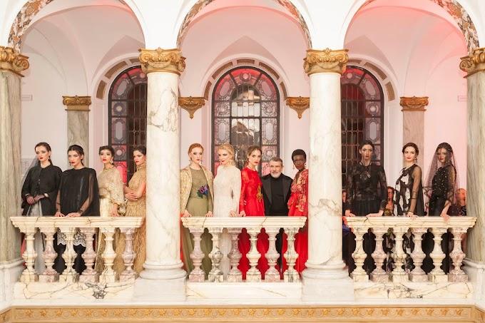 Nei saloni di Banca Generali Private ospite lo stilista Michele Miglionico con la sua Alta Moda