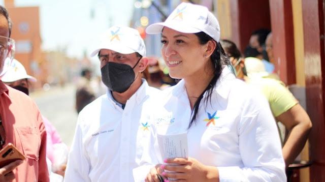 Ana Cristina Ruiz urge al ayuntamiento a resolver problema del agua en Tepontla