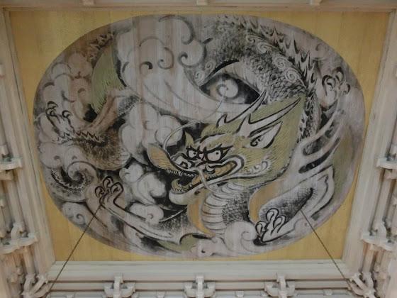 円覚寺:白龍の図
