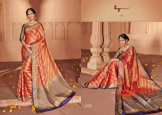 LT Fabric Ekanshi Weaving Saree catalog wholesale