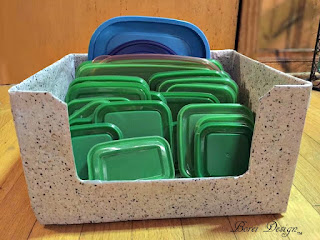 Free Tutorial: How to organize food storage lids