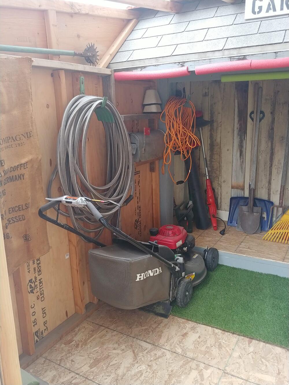 Shed Organization | Inside my DIY Shed
