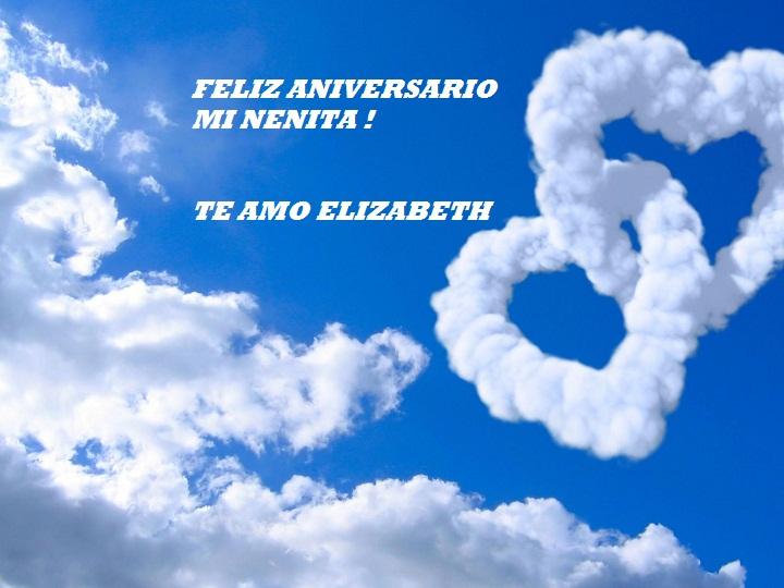 Feliz Aniversario Mi Amor: TE AMO ELIZABETH: FELIZ ANIVERSARIO MI AMOR