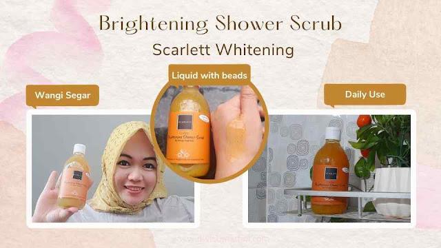 Shower Scrub Scarlett Varian Coffee