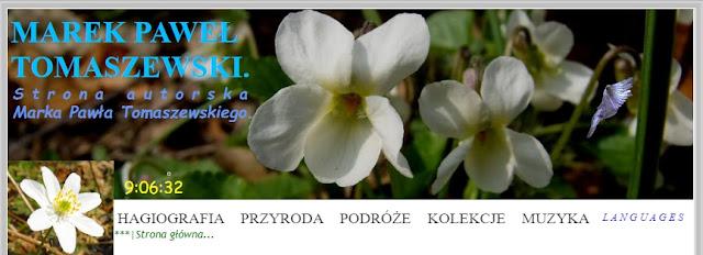 Marek Paweł Tomaszewski. Strona autorska Marka Pawła Tomaszewskiego.
