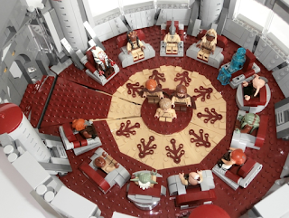 LEGO Ideas Jedi High Council Chamber - Detail