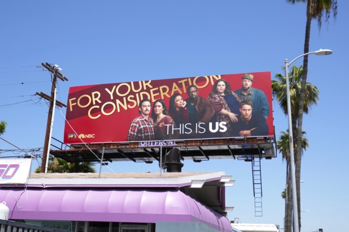 This Is Us 2019 Emmy FYC billboard