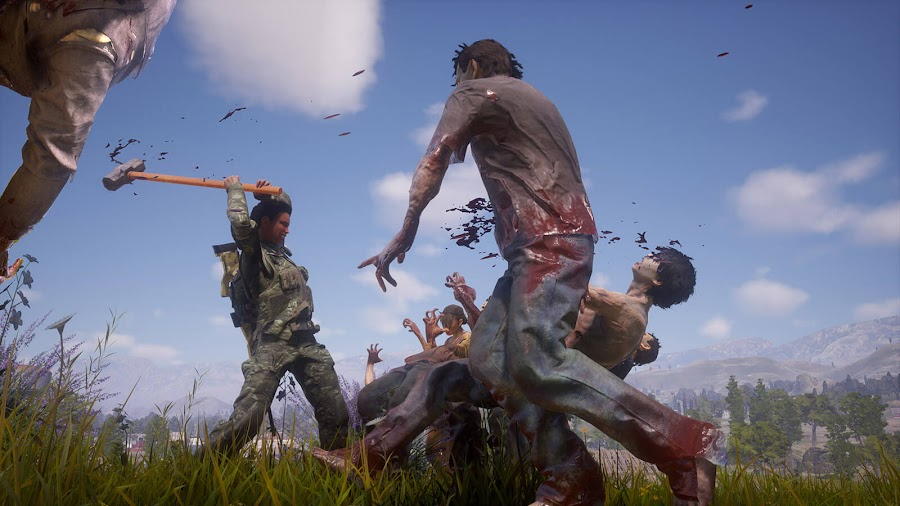 state of decay 2 juggernaut edition two-handed heavy melee weapon free content update undead labs microsoft studios pc steam xb1 game pass open-world zombie survival game