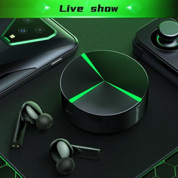 Lenovo GM1 - Uns belos earbuds gaming