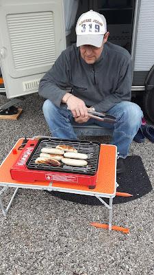 Mini-Grill für den Wohnwagen