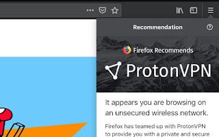 Browser Mozilla Firefox Uji Coba VPN Proton