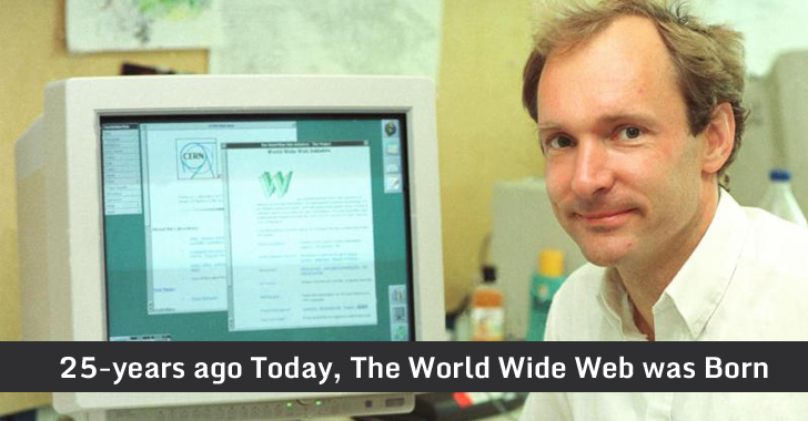 On This Day 25-years Ago, The World's First Website Went Online