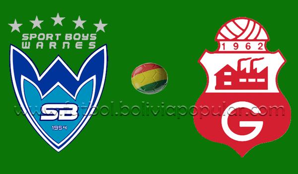 Sport Boys vs. Guabirá - En Vivo - Online - Semifinal - Torneo Apertura 2018