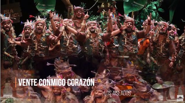 """👫👫Pasodoble """"Siento que vivo en un país"""" 🌴 Comparsa """"Los Aislados"""" con Letra (2020)"""