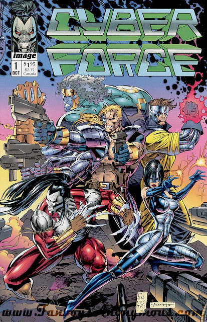 The Very First Appearance of The Cyber Force in action
