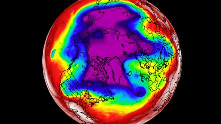 Polar Vortex : Ανάλυση της πολικής κυκλοφορίας μέχρι τις αρχές Απριλίου