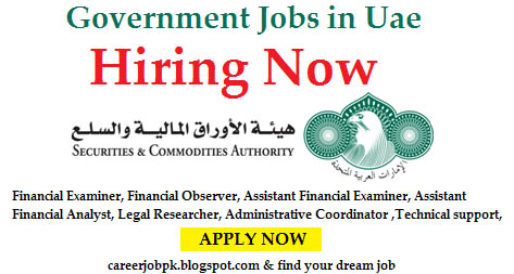 Government Sector Jobs in Uae