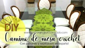 Camino de mesa crochet / DIY