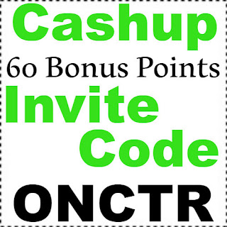Get 60 Bonus Points CashUp Invite Code, Sign Up Bonus & Referral Code