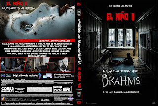 CARATULA EL NIÑO II LA MALDICION DE BRAHMS - THE BOY LA MALDICION DE BRAHMS - BRAHMS THE BOY II 2019[COVER DVD]