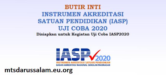 Butir Inti IASP Uji Coba 2020