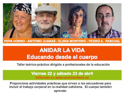 ANIDAR LA VIDA - EDUCANDO DESDE EL CUERPO