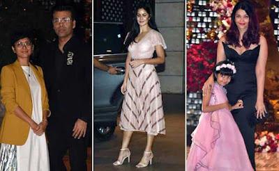 Aishwarya-Rai-Bachchan-Aaradhya-Bachchan-in-akash-ambani-engagement