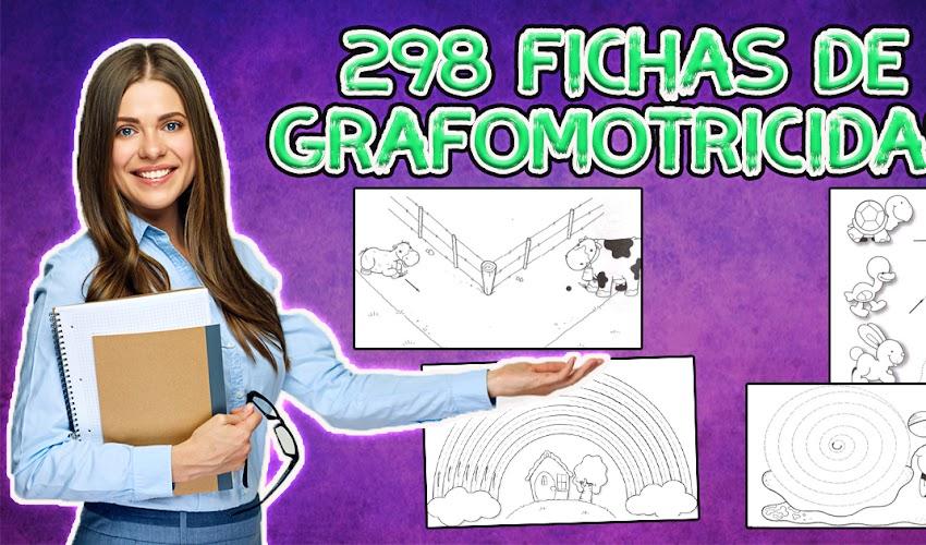 Grafomotricidad 298 fichas listas para descargar e imprimir