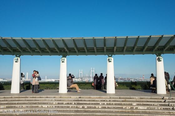 港の見える丘公園からの横浜港