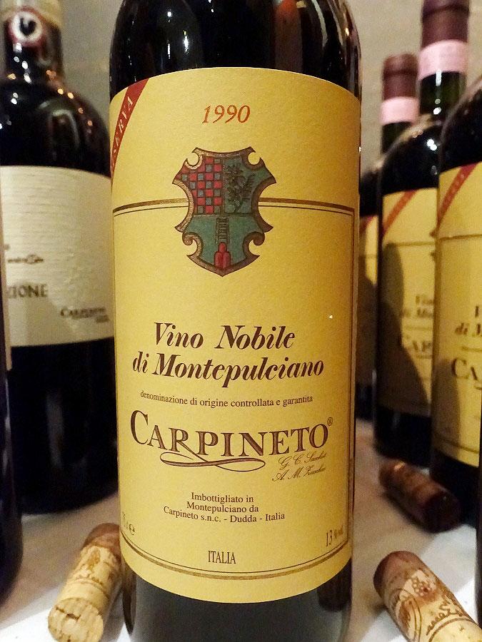 Carpineto Vino Nobile di Montepulciano Riserva 1990 (93 pts)