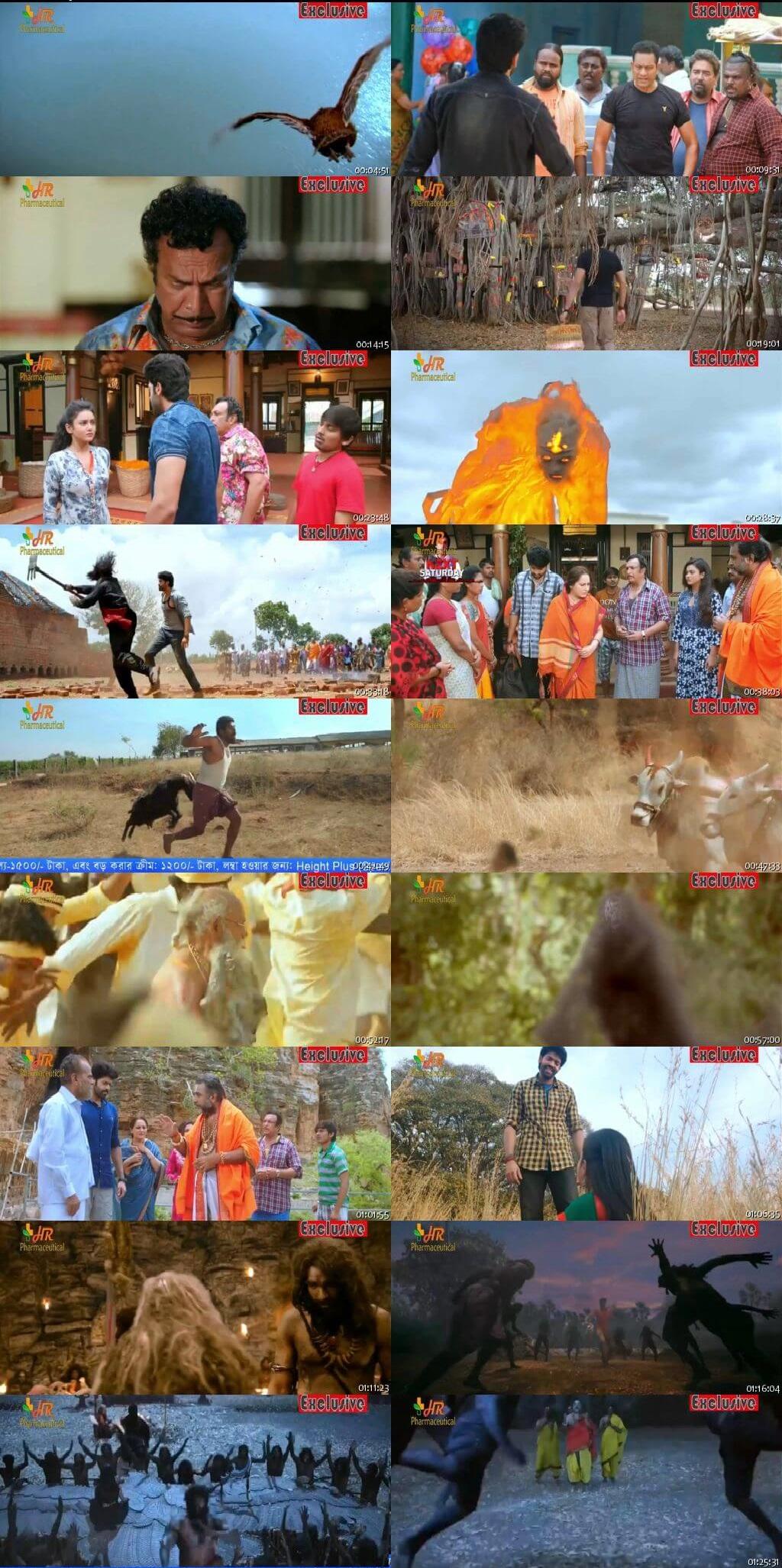 Screen Shot Of Tollywood Movie Ek Aur Mrityu Pujan 2019 Full Movie In Hindi Dubbed Free download 720P HD