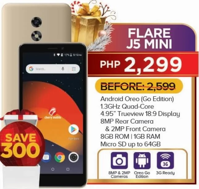 Cherry Mobile Flare J5 Mini Now Only Php2,299