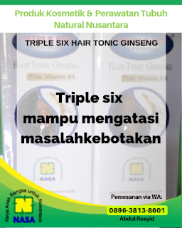 Triple Six Hair Tonic Ginseng 150ml