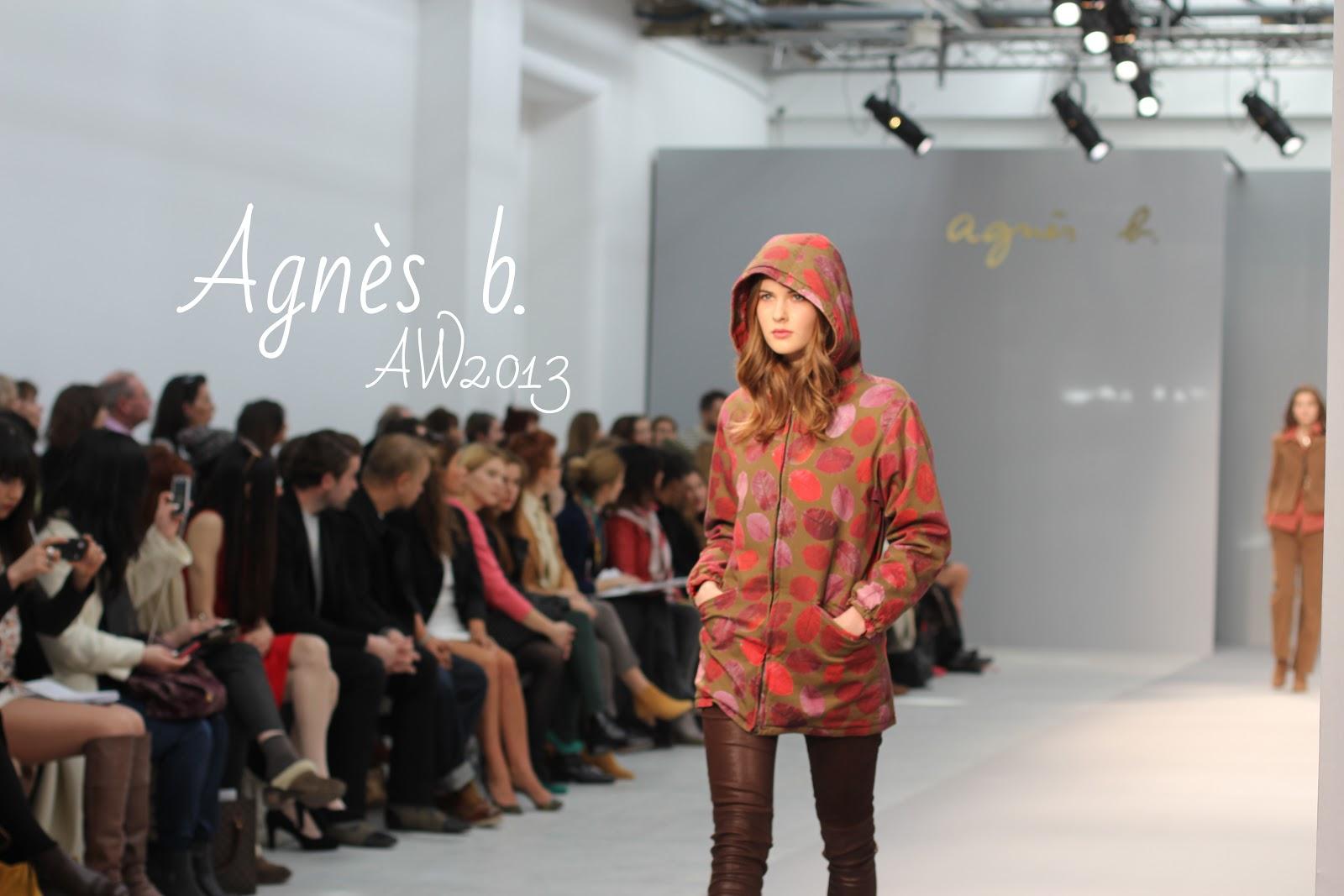 Agnès b. AH 2013 - Blog Mode - Fashion Week