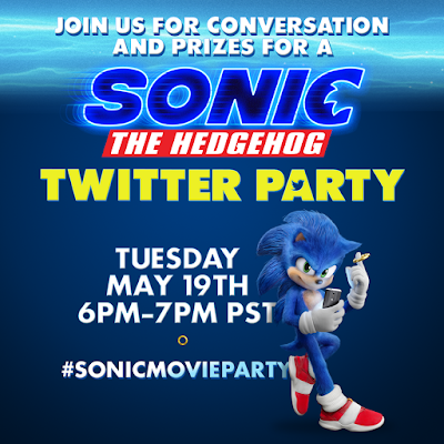 Sonic The Hedgehog Twitter Party