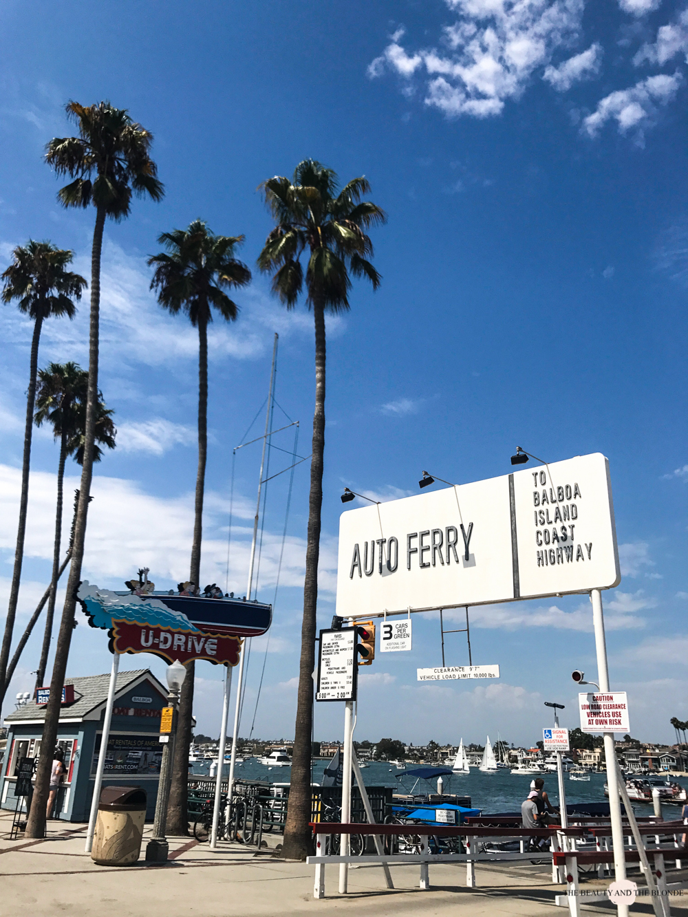 Newport Beach Westcoast USA Roadtrip