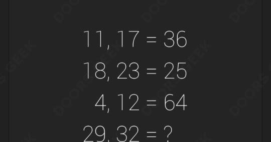 Math Level 56 Solution Doors Geek