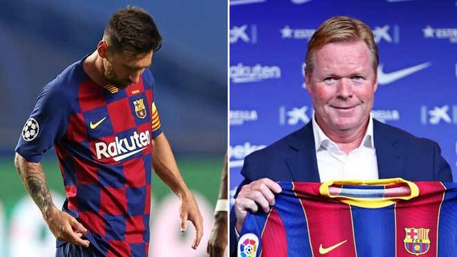 """Tân HLV Koeman thể hiện quyền uy: """"Dằn mặt"""" đội phó Barca, đối xử Messi ra sao? 2"""
