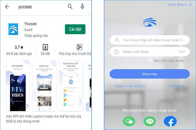 Hướng dẫn chi tiết kết nối và sử dụng camera wifi Yoosee trên di động tại nhà