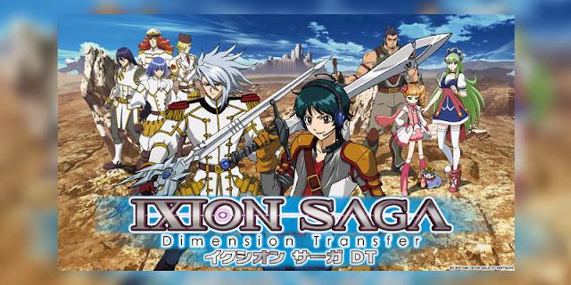 Rekomendasi Anime Game, Tentang Masuk Dunia Game Ixion Saga DT terbaru
