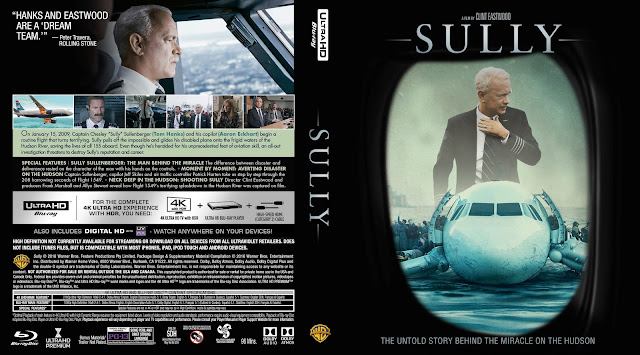 Sully 4K Bluray Cover