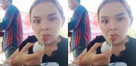 Jijik Banget! Wanita Ini dengan Lahap Makan Anak Ayam Utuh
