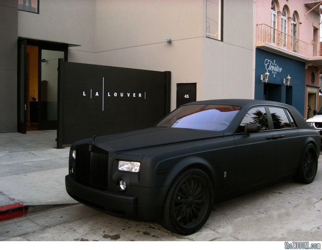 Matte Black Luxury Car Wallpaper Rolls Royce Car Models