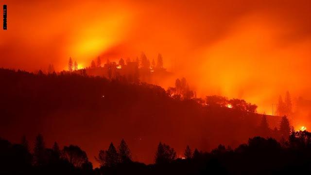 ارتفاع عدد قتلى حرائق غابات كاليفورنيا إلى 48 شخصًا