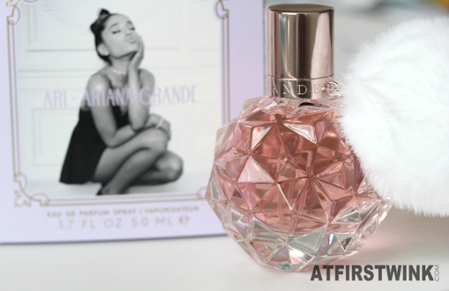 New fragrance: Ari by Ariana Grande