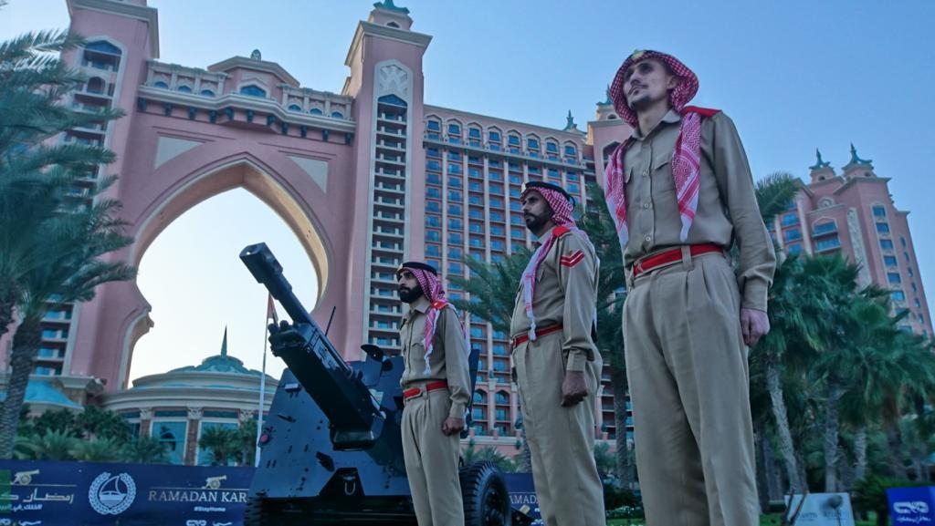 Dubai Police to mark start of Ramadan and Iftar with cannon shots