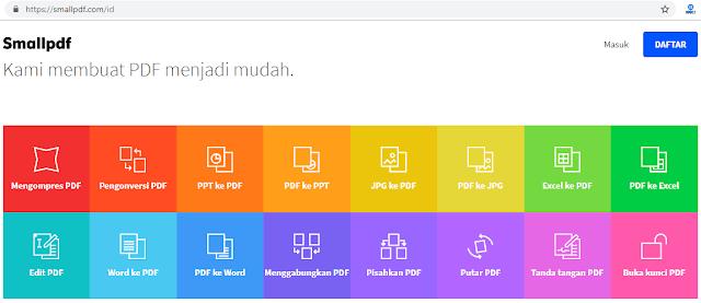 Situs converter pdf online terbaik